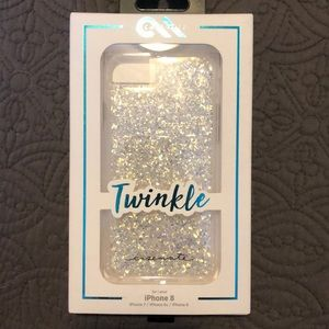 Brand New Gorgeous Sparkly iPhone 8 case!!😍💕